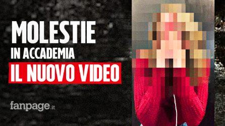 """Molestie all'Accademia, il secondo video di una studentessa: """"Andata via perché rovinata dal prof"""""""