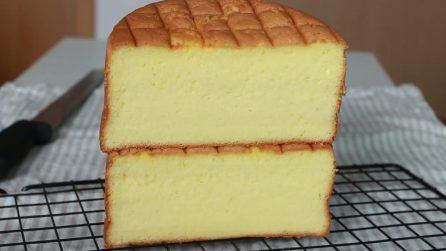 Come preparare un pan di spagna alto e soffice