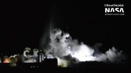 Space X, navicella esplode durante un test: porterà gli uomini su Marte