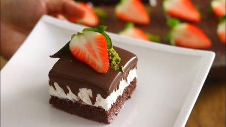 Torta furba cioccolato e panna: come preparare un dessert strepitoso