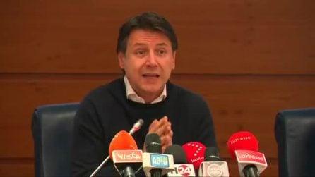 """Coronavirus, la conferenza stampa di Conte: """"Isolamento per le zone focolaio"""""""
