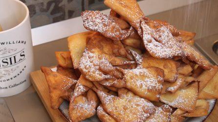 Chiacchiere di Carnevale: la ricetta per averle croccanti e deliziose