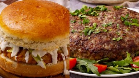 Hamburger giganti: 3 ricette per sfamare un esercito!