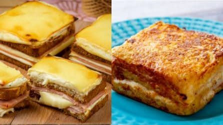 Come preparare dei toast saporiti in pochi passi: ecco 3 ricette!