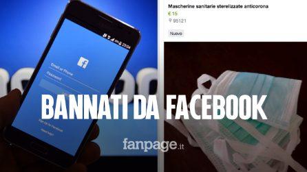 Facebook banna gli annunci ingannevoli sulla vendita di Amuchina e mascherine
