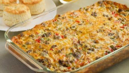 Sformato di carne e peperoni: la ricetta completa e piena di gusto
