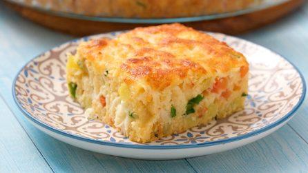 Torta salata: la ricetta semplice e veloce per deliziare tutta la famiglia!