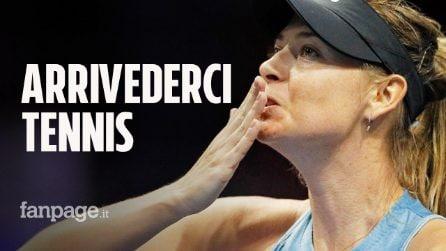 "Maria Sharapova si ritira dal Tennis: ""Continuerò a crescere. Tennis, ti dico arrivederci"""