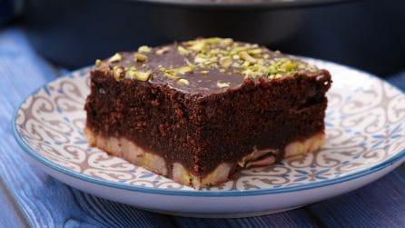 Quadrotti di cioccolato e banana: il dessert goloso che piacerà a tutti!
