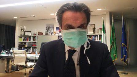 """Coronavirus, il presidente Fontana su Facebook: """"Mia collaboratrice positiva, sono in quarantena"""""""