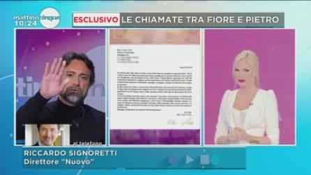 Antonella Elia vuole lasciare Pietro Delle Piane, lui racconta la sua verità a Mattino Cinque