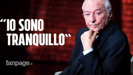 """Coronavirus, Piero Angela: """"L'Italia oggi è il Paese più sicuro di tutti, io sono tranquillo"""""""