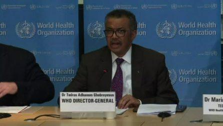 Coronavirus, Oms: ora livello di minaccia mondiale è molto alto