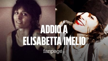 Morta Elisabetta Imelio, cantante dei Prozac + e poi anima dei Sick Tamburo: aveva 44 anni
