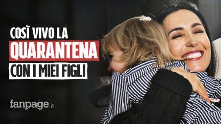 """Caterina Balivo, una madre ai tempi del Coronavirus: """"Penso positivo, insieme ce la faremo"""""""