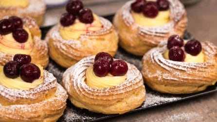 Choux pastry and cream treats: the Italian recipe you'll fall in love with!