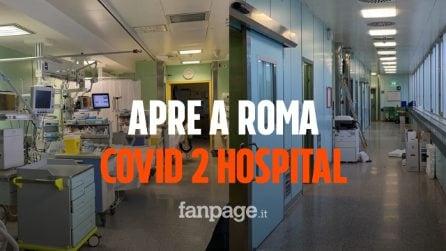 """Coronavirus, apre oggi a Roma Covid 2 Hospital: """"Allestito a tempo di record, già il primo paziente"""""""