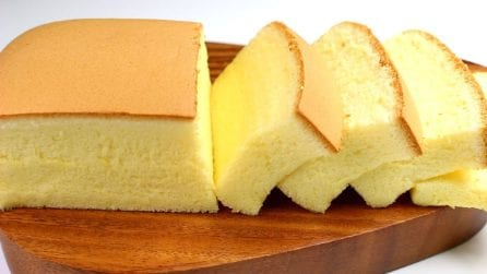 Castella cake: la ricetta del dessert alto, soffice e goloso