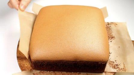 Castella cake al cioccolato: l'alternativa ancora più gustosa