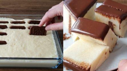 Torta senza cottura con cioccolato: il dessert veloce e super goloso