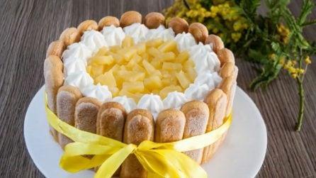 Mimosa charlotte: la golosa e originale ricetta per la festa delle donne