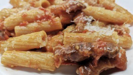 Amatriciana con pomodorini: la ricetta del primo piatto saporito