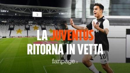 La Juventus batte l'Inter e ritorna in testa: Ramsey e Dybala spediscono i nerazzurri a -9