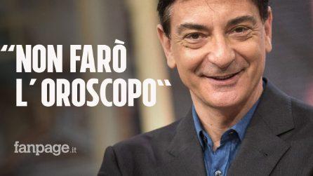 """Polo Fox diserta l'oroscopo a """"I Fatti Vostri"""": """"Coronavirus, non è il momento adatto"""""""