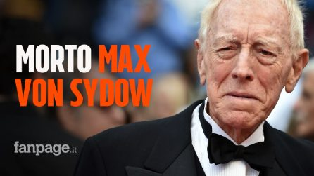 "Morto Max Von Sydow: addio all'attore protagonista de ""L'esorcista"", si è spento a 90 anni"