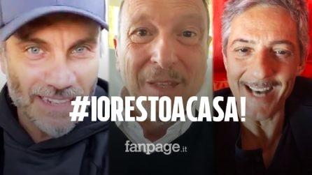 Coronavirus, #Iorestoacasa: l'appello dei più grandi nomi dello spettacolo