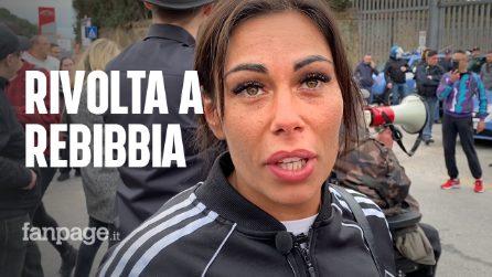 """Coronavirus, protesta a Rebibbia delle mogli dei detenuti: """"Vogliamo amnistia e indulto"""""""