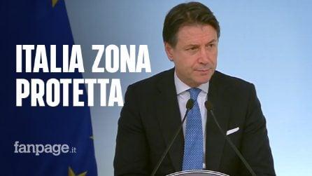 Coronavirus, tutta Italia diventa zona rossa: il discorso alla nazione di Giuseppe Conte