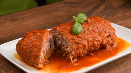 Meatloaf with tomato sauce recipe: a dinner recipe to try!
