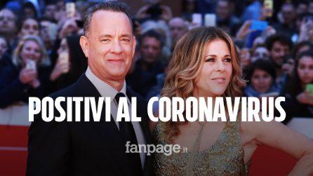 """Tom Hanks e la moglie Rita Wilson: """"Siamo positivi al Coronavirus"""""""
