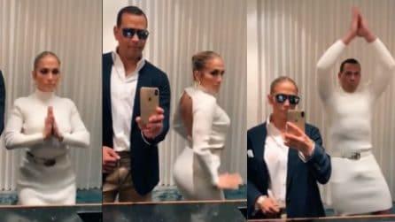 Il video di Jennifer Lopez e il marito, nella nuova challenge si scambiano gli abiti
