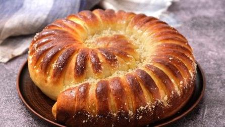 Spirale ripiena di crema di nocciole: il dolce soffice perfetto per una merenda golosa!