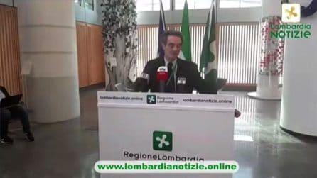 Fontana: Ridotto fino a 80 per cento il trasporto pubblico in Lombardia
