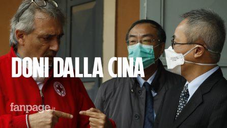 """Coronavirus, dalla Cina a Roma esperti e 31 tonnellate di materiali: """"Doniamo la nostra esperienza"""""""