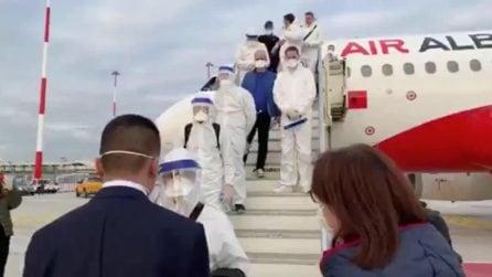 Coronavirus, 30 medici arrivano dall'Albania per aiutare gli italiani e affrontare l'emergenza