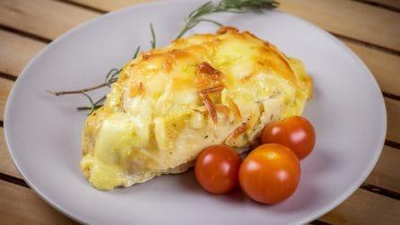 Tasche di pollo ripiene di patate: un secondo piatto facile e gustoso!
