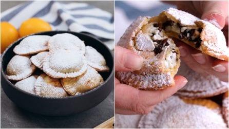 Ravioli ripieni di ricotta e gocce di cioccolato: il dolcetto goloso da preparare subito!