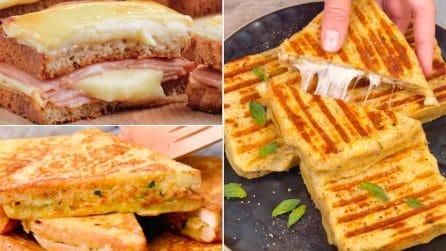 3 Ricette per preparate dei toast gustosi e saporiti!
