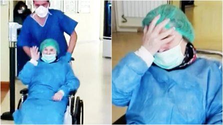 A 86 anni sconfigge il Coronavirus dopo 7 settimane in ospedale: la lacrime di nonna Gianna