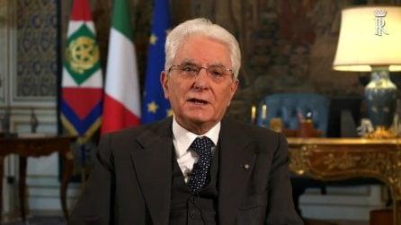 Discorso Mattarella: le parole del presidente della Repubblica