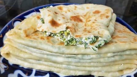 Focacce ripiene cotte in padella: la ricetta semplice e saporita