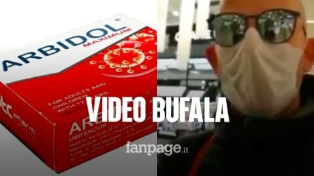 Coronavirus, il video bufala sul medicinale russo Abidol: non cura il COVID-19