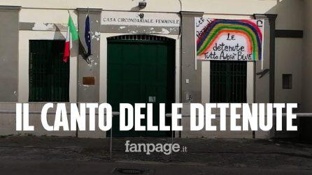 """Coronavirus, le detenute del carcere di Pozzuoli cantano l'inno italiano: """"Noi in cella voi a casa"""""""