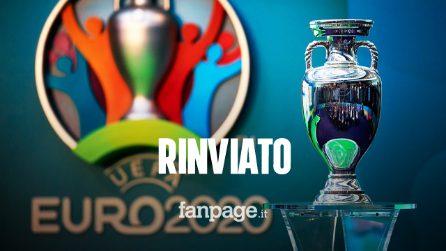 Coronavirus, rinviato Euro 2020: la Uefa ha deciso, si giocherà nel 2021