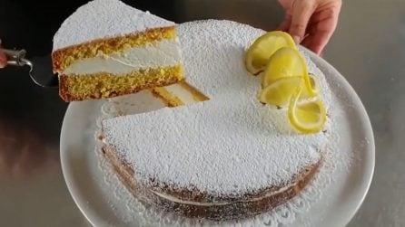 Torta paradiso con spuma al limone: la ricetta semplice e golosissima