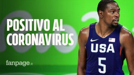 Coronavirus: positivo Kevin Durant, star dell'NBA e giocatore dei Brooklyn Nets